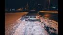 В Киеве на Позняках BMW вылетел на обочину и лишилcя колеса