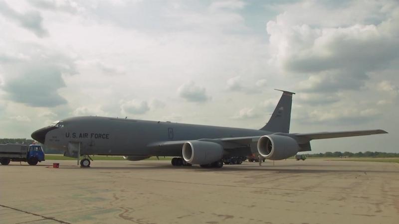 Ample Strike 18 - KC 135 B-roll package. CZECH REPUBLIC. 07.09.2018