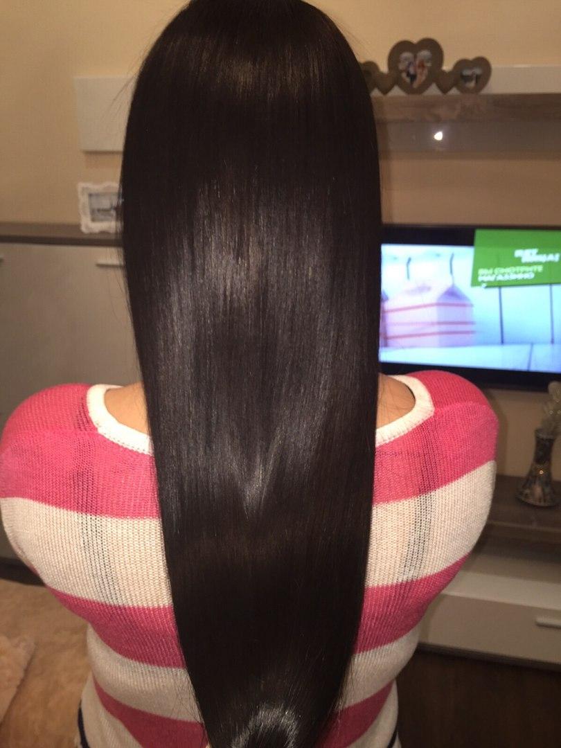 Выпрямление волос, Кератин для волос, Выпрямление волос кератином