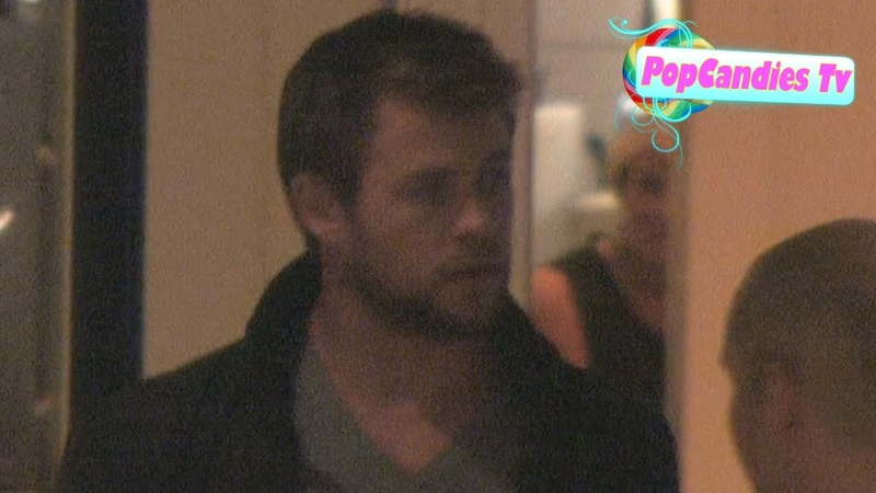 Exclusive! Thors Chris Hemsworth @ The London Hotel in West Hollywood!