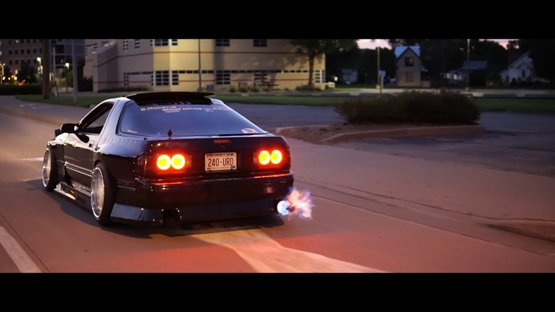 RX 7 FC3S Banana Hands Anti V8 Swap Ricer Cruise