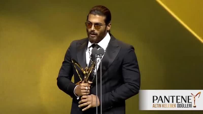 Pantene Altın Kelebek En İyi Romantik Komedi Dizisi Erkek Oyuncu Ödülü Can Yam