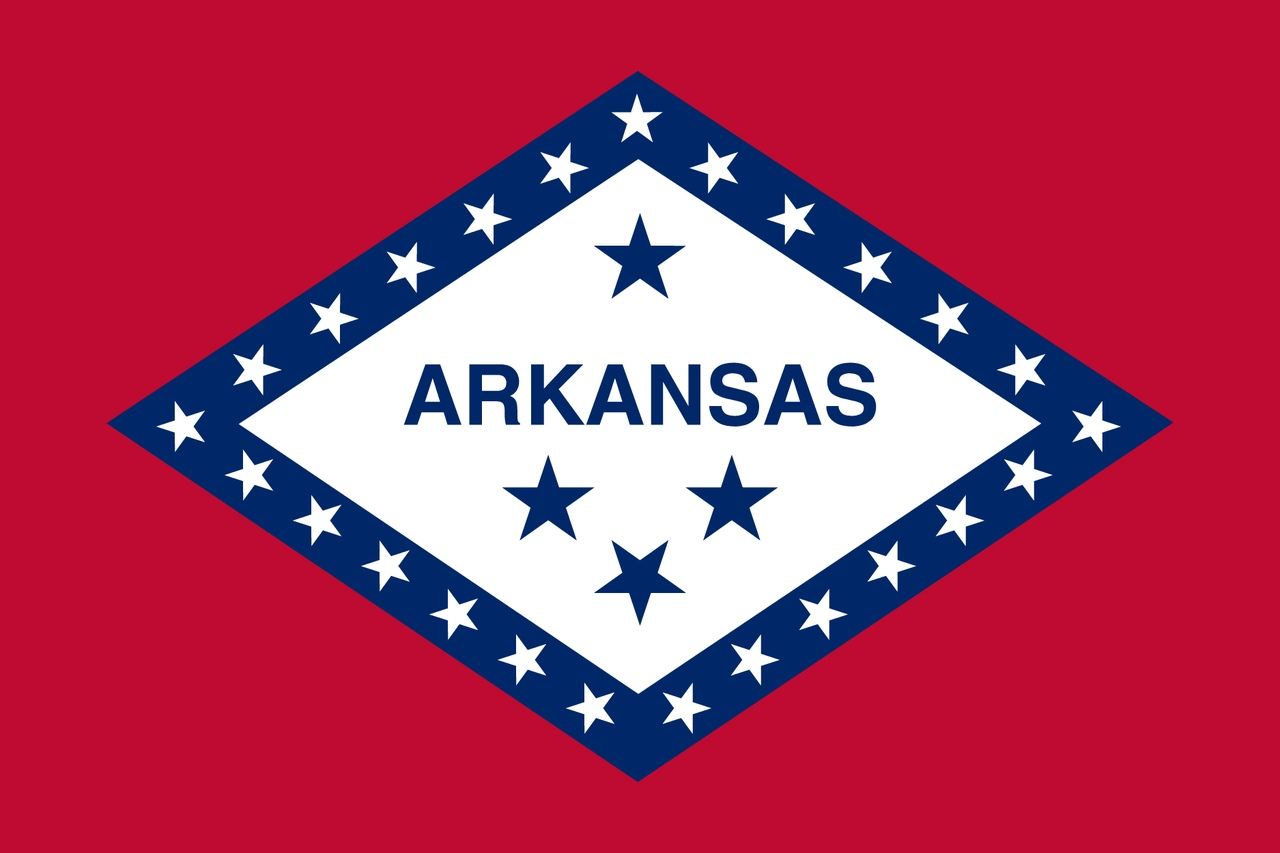 Флаг Арканзас