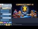 Clash Royale RUSH Combattant III Jeux avec abonnés en LIVE