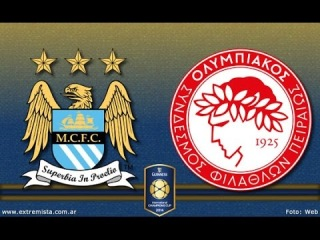 LIVE: Olympiacos vs Manchester City | International Champions Cup 2014