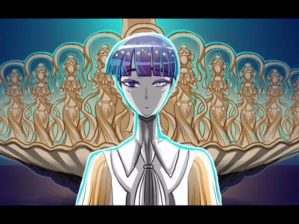 Tokyo Ghoul :re and Houseki no Kuni【寶石之國原創手書】東晶石屍鬼 Asphyxia 【法斯中心劇透】宝石の