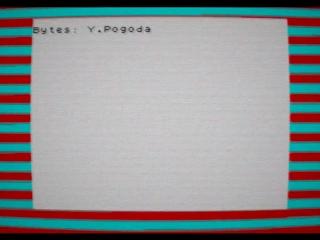 Яндекс.Погода на компьютере ZX Spectrum