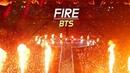 180622 BTS : 불타오르네 FIRE : LED FANCAM : LOTTE FAMILY CONCERT 2018 : 방탄소년단 防弾少年団