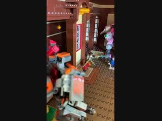 Zedd - Lego Art Installation