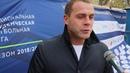 Бронзовый призёр Евро-2008 в составе сборной России Роман Адамов на турнире НСФЛ в Ростове-на-Дону