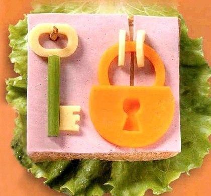 Необычные бутерброды для детей. (5 фото) - картинка