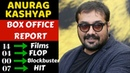 Director Anurag Kashyap Box Office Collection Analysis Hit, Blockbuster and Flop Movies List