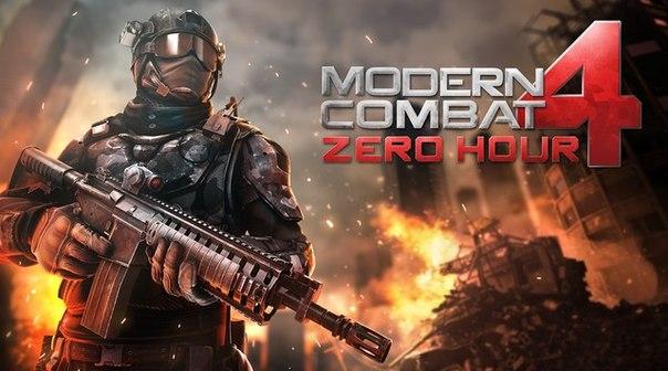 Скачать  Modern Combat 4: Zero Hour для android
