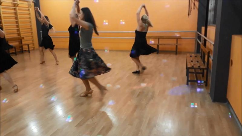 Тренировка группы Latina MiX