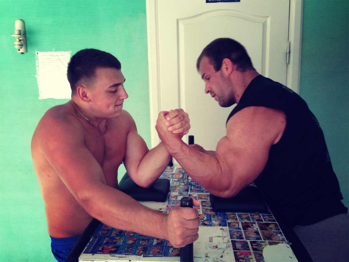 Denis Cyplenkov armwrestling - 6 August 2013 │ Photo Source: Zheka Tretyak