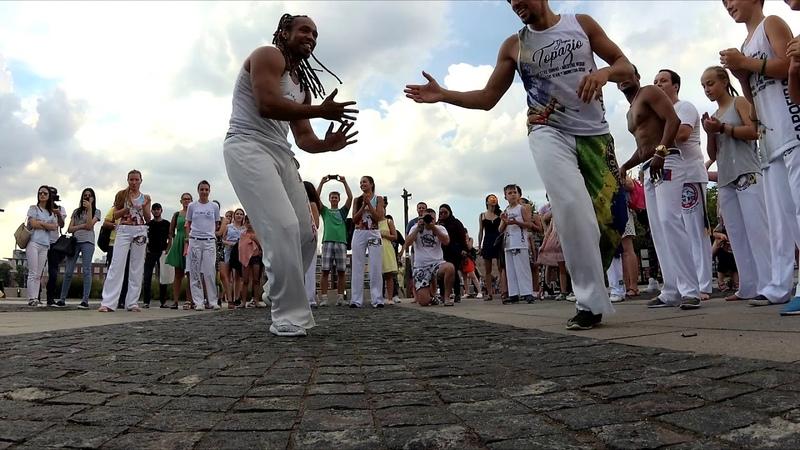 GCFV в гостях у Capoeira Topazio. Москва 2018. Уличная рода