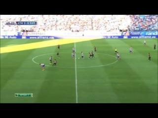 Атлетико Мадрид - Райо Вальекано 5-0 (25 августа 2013 г, Чемпионат Испании)