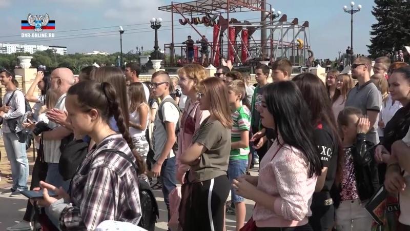 В парке им. А.С. Щербакова проходит молодежный фестиваль.