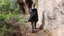 Huge Rock-Cut Rooms, Trapezoids, Marturanum, San Giuliano, Italy - newearth