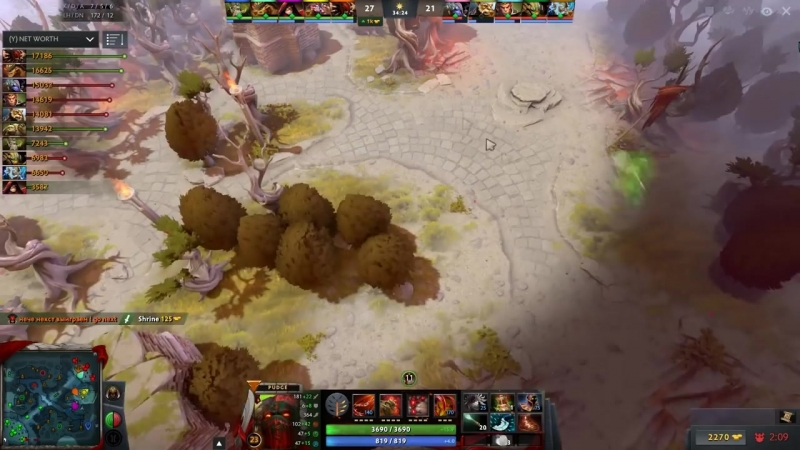 Dendi is Back with his Legendary Pudge! Back to Solo Mid Pudge Meta Dota 2 Gamep