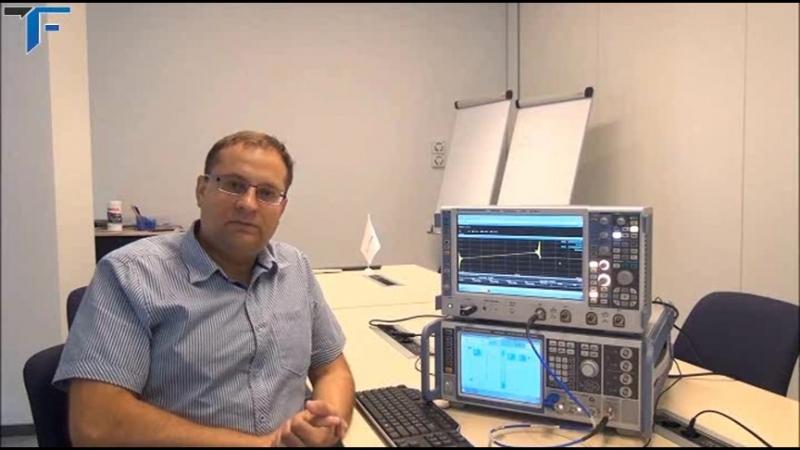 Анализ переходных процессов импульсного сигнала с ЛЧМ