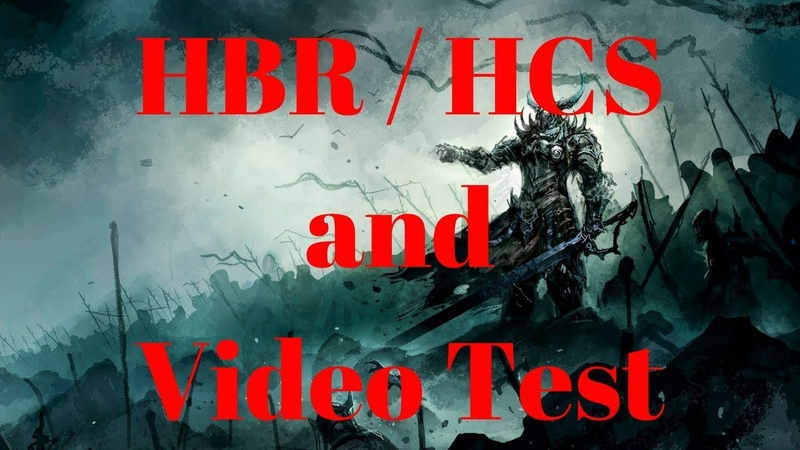 Diablo 2 - HBR HCS and Video Test