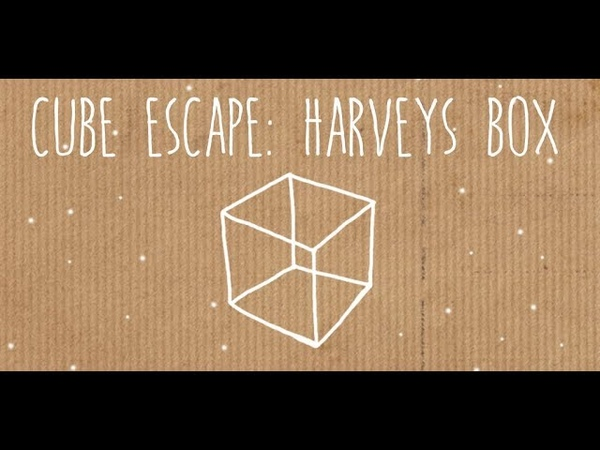2 Немного На**ались CUBE ESCAPE HARVEY'S BOX