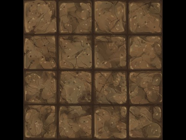 【TEXTURE】-Hand Painted - Low Poly - Floor04