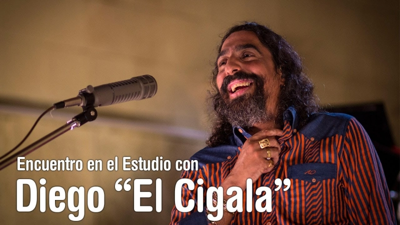 Diego El Cigala - Por una cabeza - Encuentro en el Estudio - Temporada 7