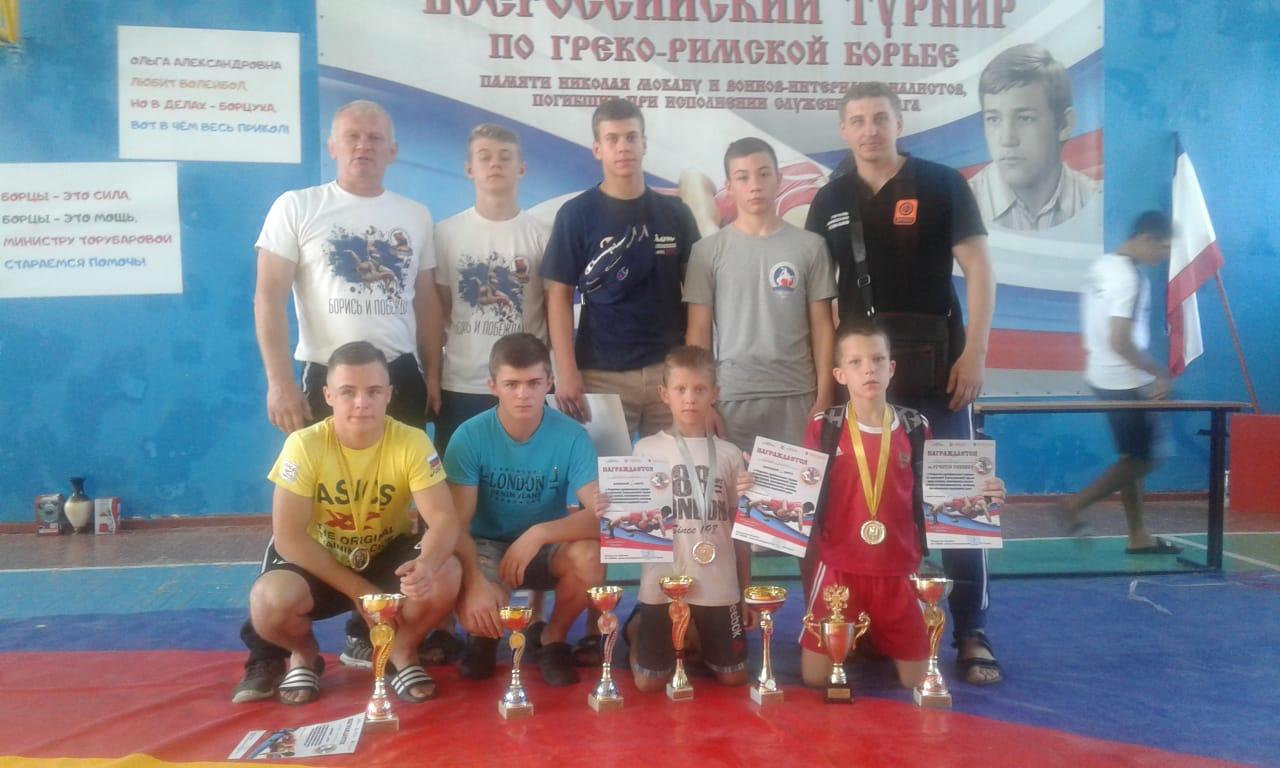 Спортсмены города Донецка – победители и призёры Всероссийского турнира по греко-римской борьбе