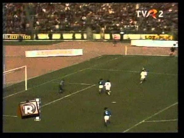 Динамо Бухарест Динамо Минск 1 0 21 марта 1984 1 4 финала Кубка УЕФА ответный матч