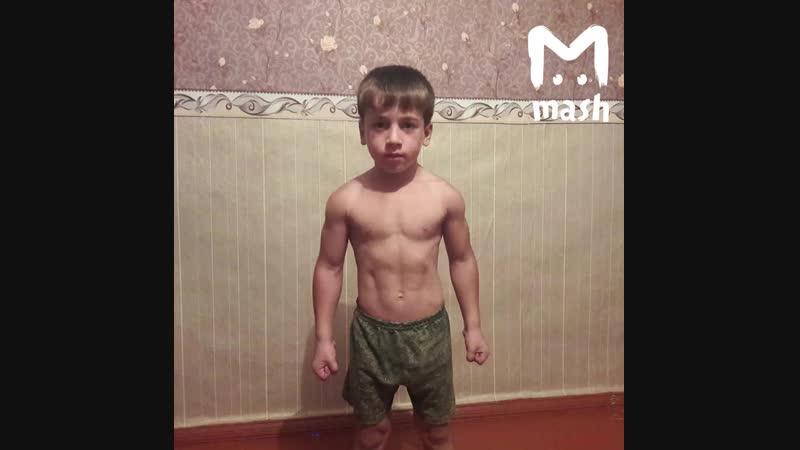 5-летний мальчик установил мировой рекорд по отжиманию, но его отказались фиксировать