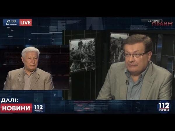 Константин Грищенко и Юрий Ехануров в Вечернем прайме на 112, 16.07.2018 (22)