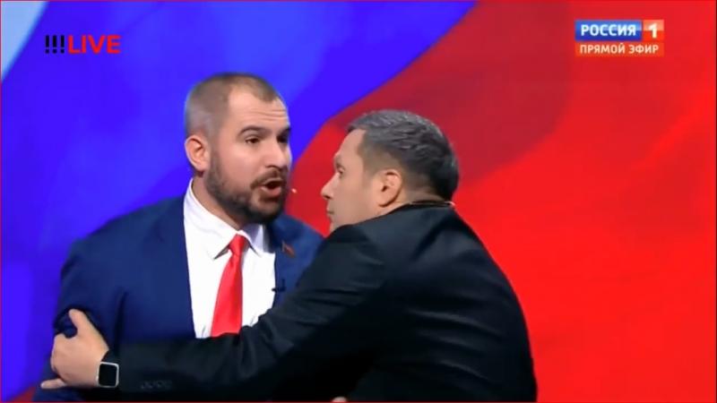 Закулисье скандала на дебатах Соловьёва 15 03 18 г
