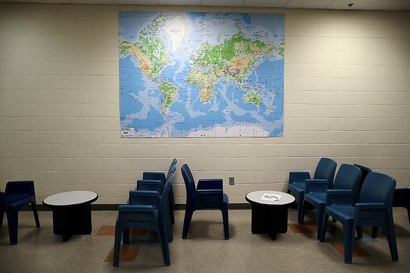 Комнаты свиданий заключенных с родственниками в тюрьмах мира