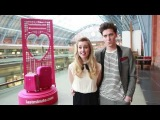 Diana Vickers &amp George Craig launch lastminute.com Valentine's Day Competition