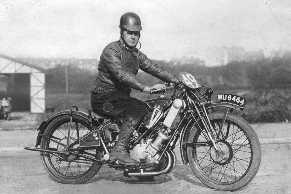Гоночный прототип Scott Flying Squirrel 1926