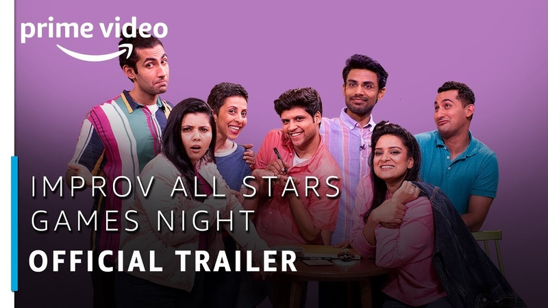 Improv All Stars Games Night | Kaneez Surka | Official Trailer | Amazon Prime Video