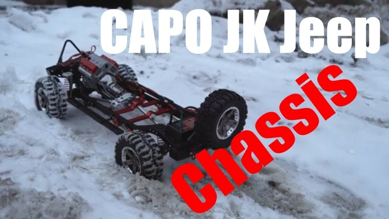 Capo JK Jeep CD15823 First Test Chassis