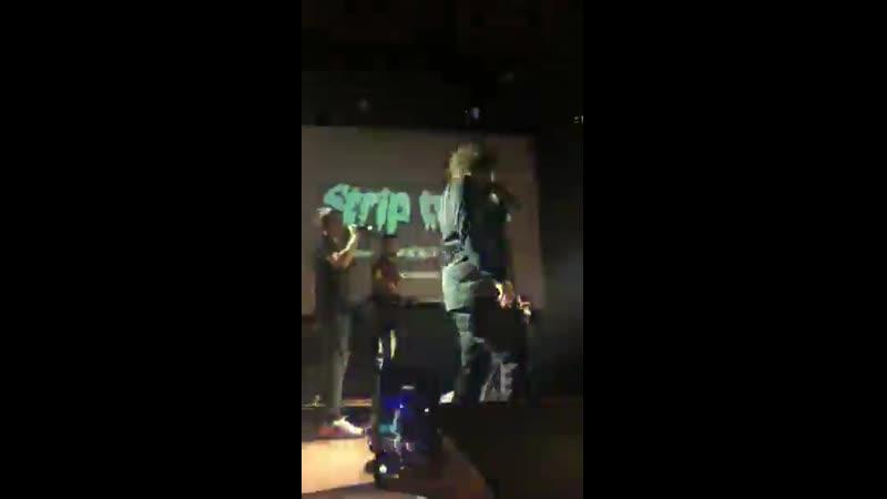 18.10.2018 Thomas Mraz - May 13   Тюмень, КТЗ Байконур (feat. Padillion x Mojawe)