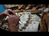 Ручная резьба по дереву. Фамильный герб. Woodcarving
