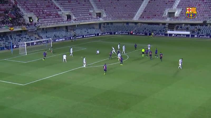 [HIGHLIGHTS] Així va ser l'empat del Barça B ahir davant del Castellón al Miniestadi, amb.mp4