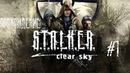 Начало Прохождения S.T.A.L.K.E.R.: Чистое Небо - 1: Зачистка Болот