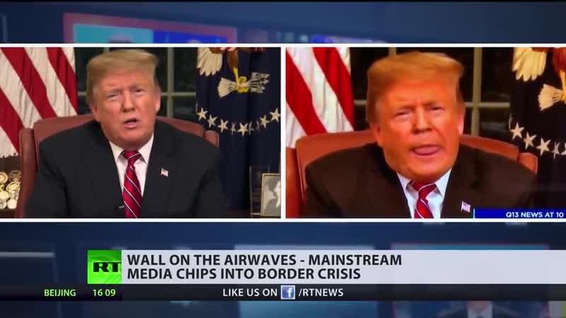 How mainstream media chips into US border crisis