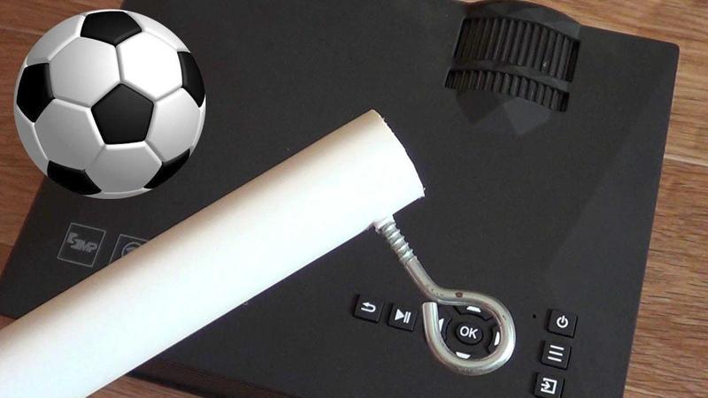 Смотри ЧМ по футболу 2018 с комфортом | LED проектор UC46 С WI-FI