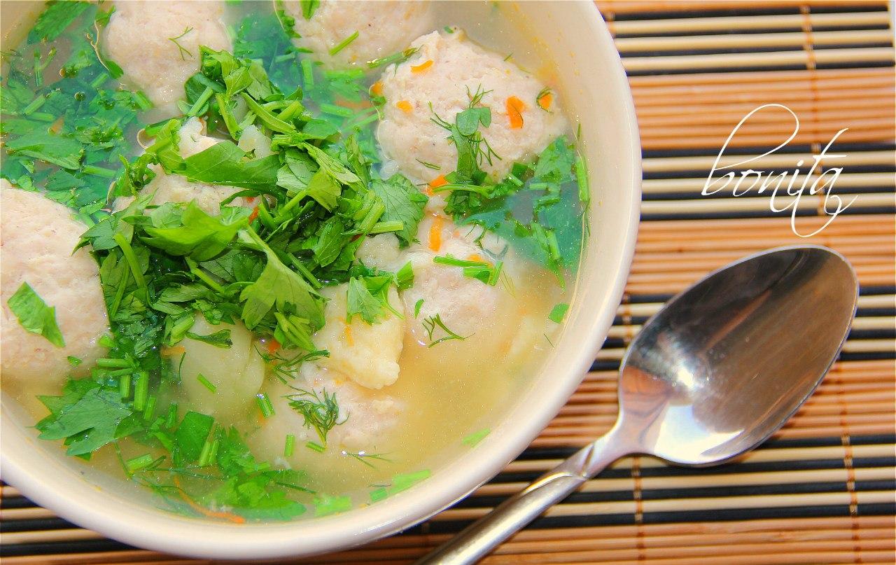 Капустный суп с фрикадельками рецепт 192