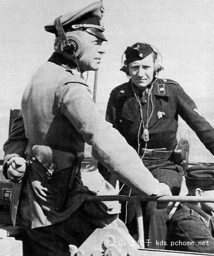 1941 год. Гудериан на передвижном КП