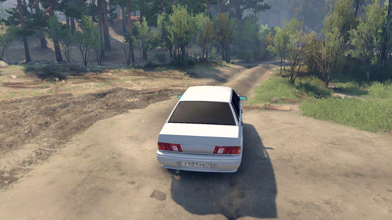 Лада 2115 для Spintires - Скриншот 3