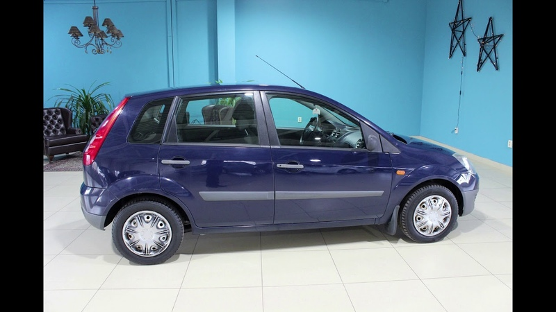 Ford Fiesta 2008 1 4MT