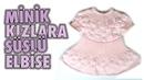Robadan Elbise Örgü Modeli, Minik Kızlara Süslü Elbise - Örgü Modelleri